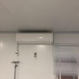 Fourniture et pose des sanitaires climatiseur sur les CTE Covid-19 à Natitingou
