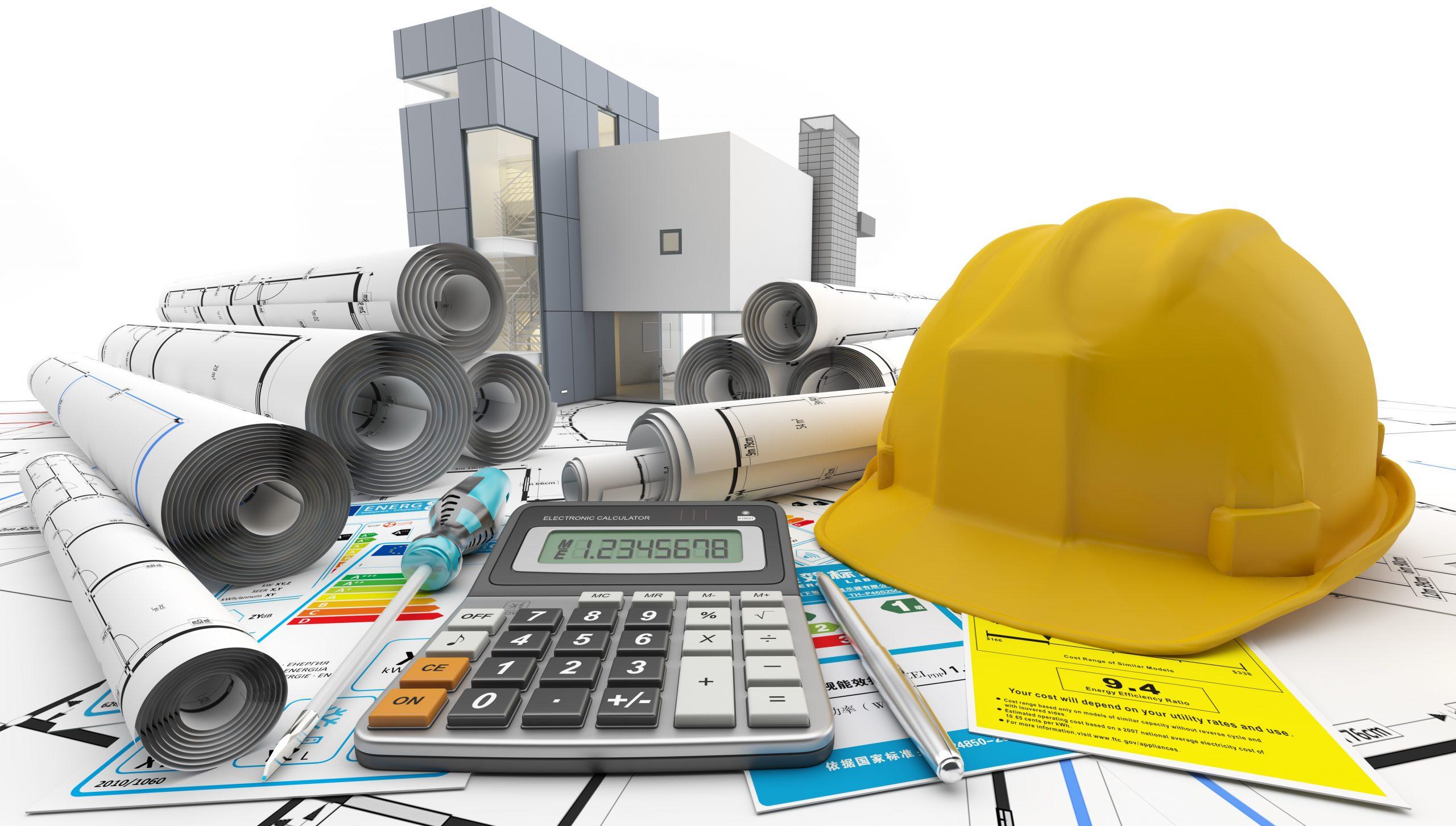 Etudes en divers construction de MT Construction