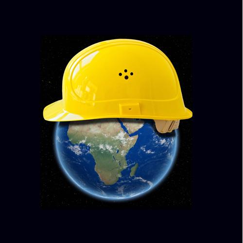 Afrique casque Construction